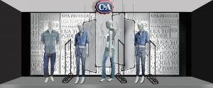 Escaparatismo Escaparate C&A merchanlab mexico